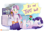 Sweetie belle cooking skill by Ende26