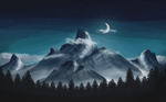 The mountains by Samuels-Graphics
