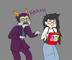 Eridan: Do the creep. by atenineten