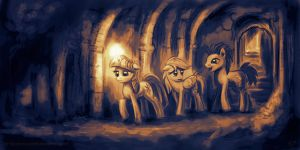 Tunnel by KP-ShadowSquirrel