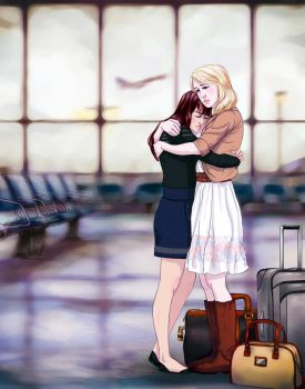 Goodbye (Faberry) by TrappedinVacancy