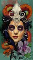 day of the dead girl by mojoncio
