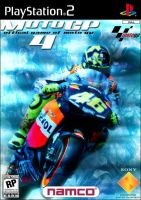 Moto GP 4 Game Cover by fadingaway