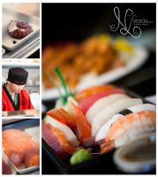Sushi and Sashimi by NLDesign