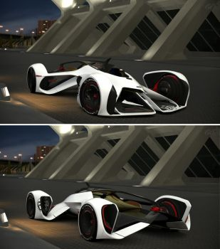 Chevrolet Chaparral 2X Vision Gran Turismo by GT6-Garage
