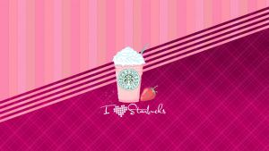 Wallpaper I Love Starbucks by OnlySweetGirl
