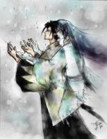 .When the Snow Falls. by kawaii-sasuke