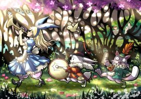 Alice in Wonderland ver2 by Kazeo-YuuRin