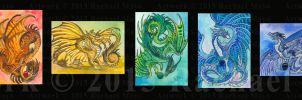 ACEO Western Rainbow Collection by rachaelm5
