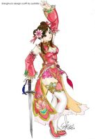 Xianghua outfit by Sheila by syahilla