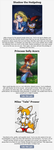 Which Sonic the Hedgehog Character are you? Result by DawnFelix