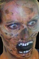 Face Painting Zombie by facepaintingparadise