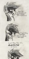 Not Everyone Can Be Awesome by mindofnoodles