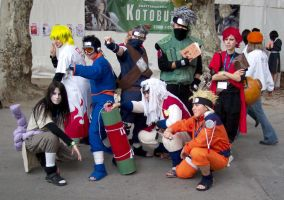 cosplay: Naruto big group by GhoulSoul