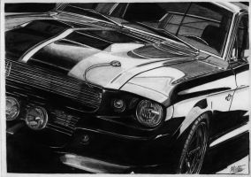 Shelby GT500 Eleanor finished by alainmi