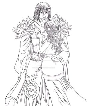 Jarltor and Naior by LilBunnyFufu