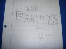 The Beatles Logo by SonicAmp