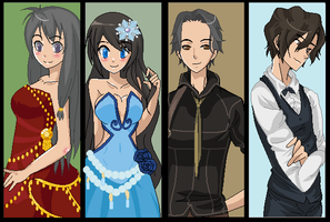 My GDC Characters by Astrid569
