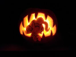 giggle at ghosty pumpkin by Wildfox101