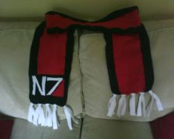 N7 Scarf Commission by Tycho