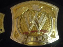 .My WWE Championship. by CRCstinger