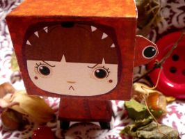 paperToys Little red riding..4 by RozennB