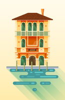 Salviati House from Venice by The-fishy-one