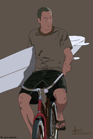 Jack Johnson Ridin' by Aroonio