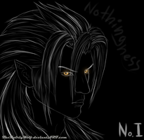 KH: No. I Xemnas by TheTwirlyWolf