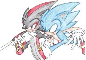 Sonic Generations - Vs. Shadow by JetStriker96