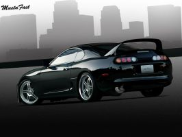 Toyota Supra by mustaF4ST