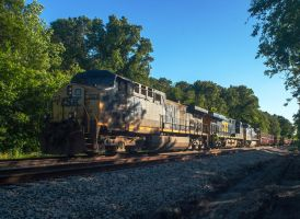 CSX lost work train by wolvesone