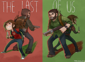 Ellie and Joel by Jesscookie