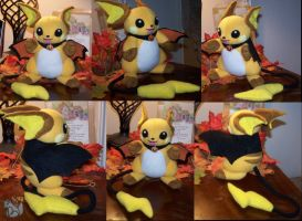 Batchu Plush Commission by YutakaYumi