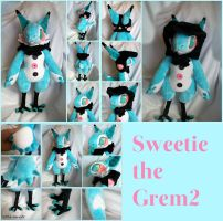 Trade: Sweetie the Grem2 Plush by Sanguinem-Luna