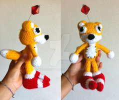 Tail's Doll Amigurumi by vrlovecats