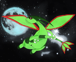 moonlight flygon by Elsdrake