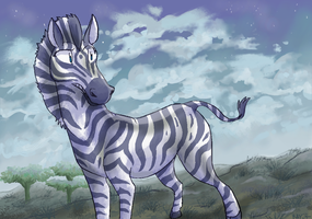 it's a zebra by TheRoguez