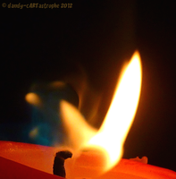 Candle with flare 74 by dandy-cARTastrophe