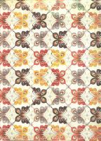 autumn butterflies paper by TonomuraBix