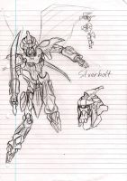 Silverbolt sketch by Justicity-Comics