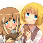 ~ New OC - Fumi and Armin ~ by RosiieChan
