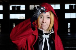 Edward Elric - Time to go, Al ! by Bahamut-Dragoon
