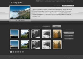 Photo Gallery Website by bographics