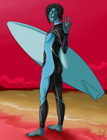 :: Snot Beach Babe :: by Toxxic-Vixen