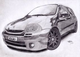 Renault Clio RS by Laggtastic