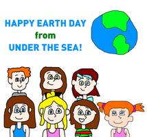 Kathy and her Cousins - Happy Earth Day! by MikeEddyAdmirer89
