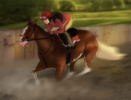 Speed Demon by FeatherCandy