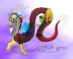 MLP BIRTHDAY: John de Lancie by Wolframclaws
