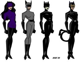 Catwoman Evolution by billiebob72088